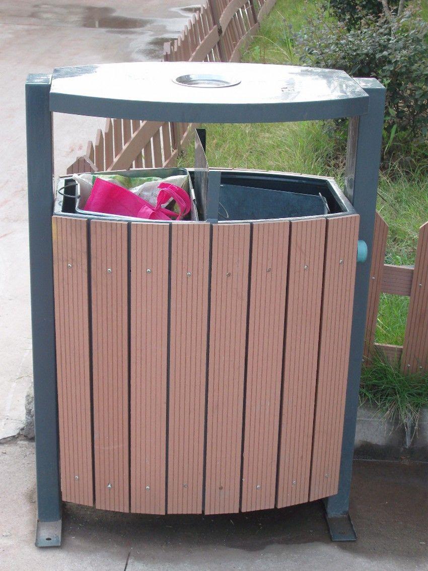 木制垃圾桶,生态木塑产品