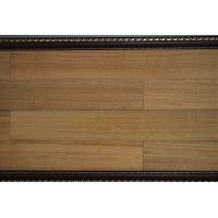 钛金面系列地板:柞木