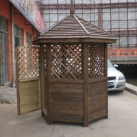 南京木业-丰景木业-碳化木-亭子
