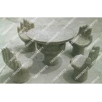 石雕桌椅  石凳  庭院桌椅  公园石凳