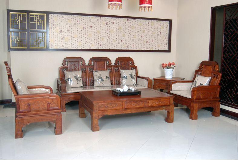 年年红红木家具——博海沙发
