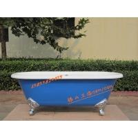 银山卫浴直供铸铁浴缸