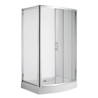 南京淋浴房-美标洁具-艾迪珂长弧型移门淋浴房
