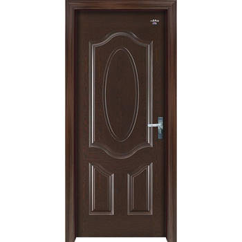 南京木门-南京星星套装门-黑檀木椭圆欧式