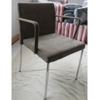 扶手餐椅(绒布面料)