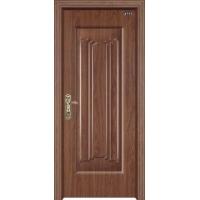 高檔豪華鋼木門,電解板鋼質門。