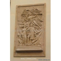 砂巖雕塑砂巖雕塑公司北京砂巖浮雕壁畫廠家人造砂巖浮雕價格水景