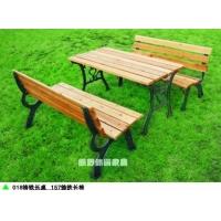 广场桌椅,铸铁桌椅,可固定铸铁桌椅