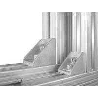 铝型材配件角件角铝角码--大连伊通