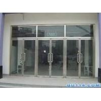 安装玻璃隔断 安装玻璃门门禁和地弹簧