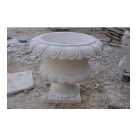 白砂岩花盆