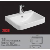 陶瓷盆 陶瓷柜盆 洗手盆 浴室柜盆