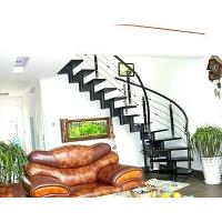 成都欧雅斯艺术楼梯-钢木楼梯 28
