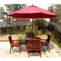 休闲木桌椅 户外休闲桌椅 广州木制桌椅 庭院木桌椅