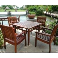休闲木桌椅,户外木制桌椅,广州园林桌椅,庭院桌椅