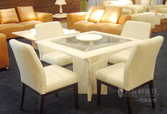 名匠轩-餐厅系列--咖啡台 餐椅
