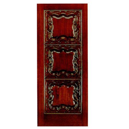 实木雕刻门
