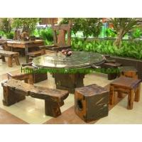 古船家具-户外餐桌