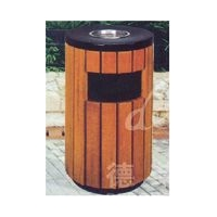 供应实木垃圾箱,户外木制家具