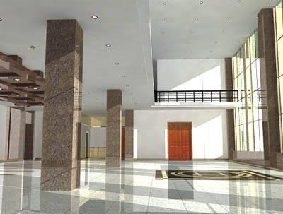 四川树人-室内装饰系列-凉山州中级人民法院大厅