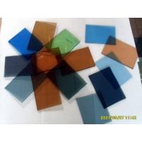 彩色格法玻璃