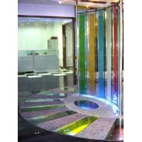 多彩琉璃石 水晶石灯光地台/产品展示台