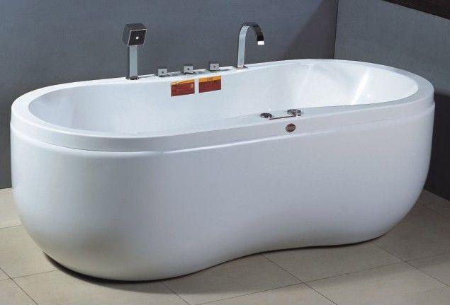 单人椭圆形按摩浴缸