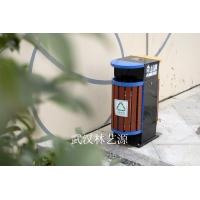 木塑垃圾桶_武汉木塑垃圾桶_湖北木塑厂家_木塑垃圾桶价格