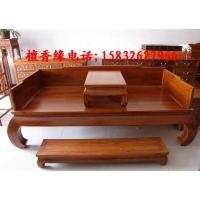 独板围子床北京仿古家具明清风韵红木家具定做