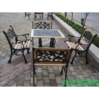 公园椅 铸铁桌椅 铁桌椅 景区桌椅 公园桌椅 休闲桌椅 户外