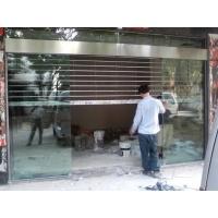 佛山市西樵安装不锈钢玻璃电动门感应自动门