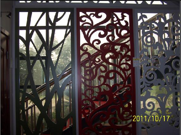 成都雕花板/镂空板/中密度板/花窗/屏风/隔断/木质通花板