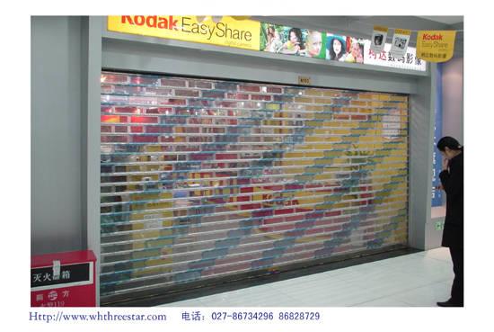 深圳水晶门 福田不锈钢拉闸门价格 梅林不锈钢卷闸门维修加固