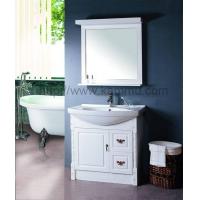 加冕橡木浴室柜维纳斯纯白系列之单门版