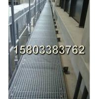 平臺用熱浸鋅鋼格板,熱浸鋅格柵板