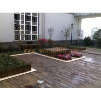 China mobile roof garden