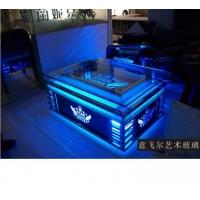 最近高档不锈钢KTV茶几YFE-99