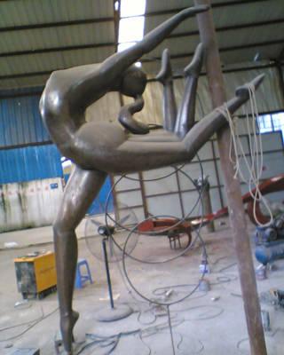 南京雕塑-南京天将雕塑-锻铜雕塑