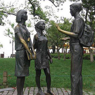 南京雕塑厂-南京天将雕塑-园林小品