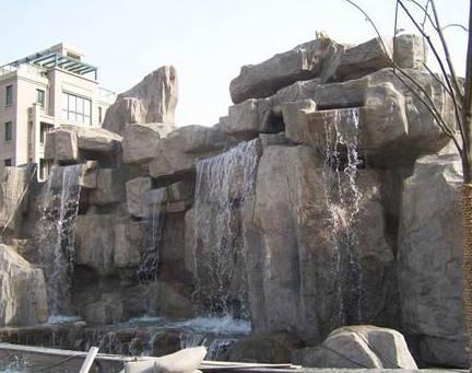 南京雕塑-南京天将雕塑-假山-2