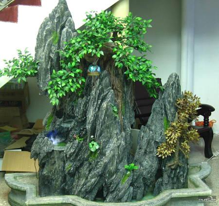 南京雕塑-南京天将雕塑-假山-3