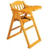惠美P-06儿童餐椅(原木色)