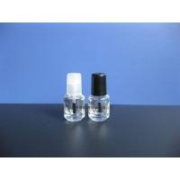 供应5ml透明白色指甲油瓶 高档圆柱指甲油瓶