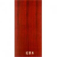 强化烤漆面板-红拼木