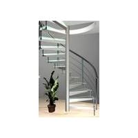 不锈钢楼梯扶手,手感好,有现代感,使用寿命长
