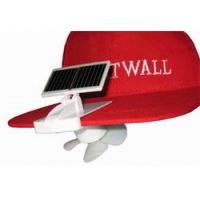 太阳能风扇帽夹