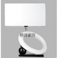 陶瓷烤漆台灯,现代 布罩台灯X184-JX0175BC