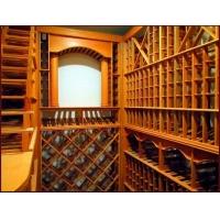 餐边红酒架,深圳15Mm实木酒架,深圳酒架厂,橡木酒架