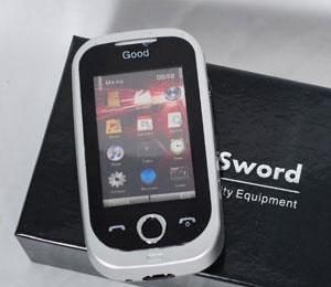 瑞网安防1003手机型女子防身用品户外防身电棒