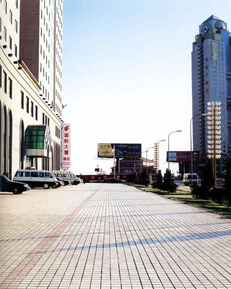 异形街景简笔画